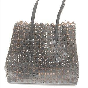 Alaia Laser cut Tote handbag